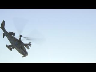 Вертолеты Ми-8АМТШ и Ка-52 совершили посадку на горы Сихотэ-Алиньского хребта