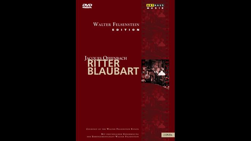 Offenbach Jacques Ritter Blaubart Tokio 1991 deutsch Walter Felsenstein