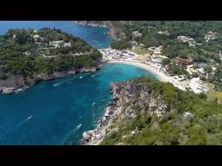 Палеокострица , остров Корфу , Греция