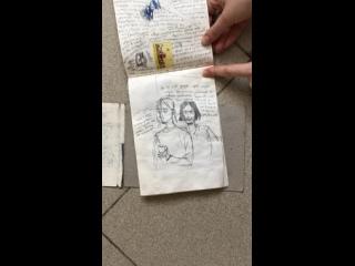 Обзор блокнота на который я сказала что больше в нем рисовать не буду)))