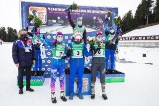 Ульяна Кайшева - бронзовый призёр Чемпионата России по биатлону. 1