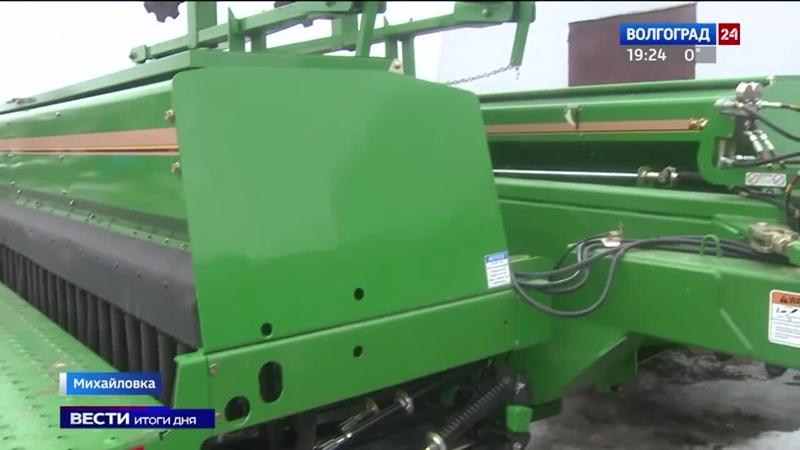 Волгоградские растениеводы обновляют парк техники