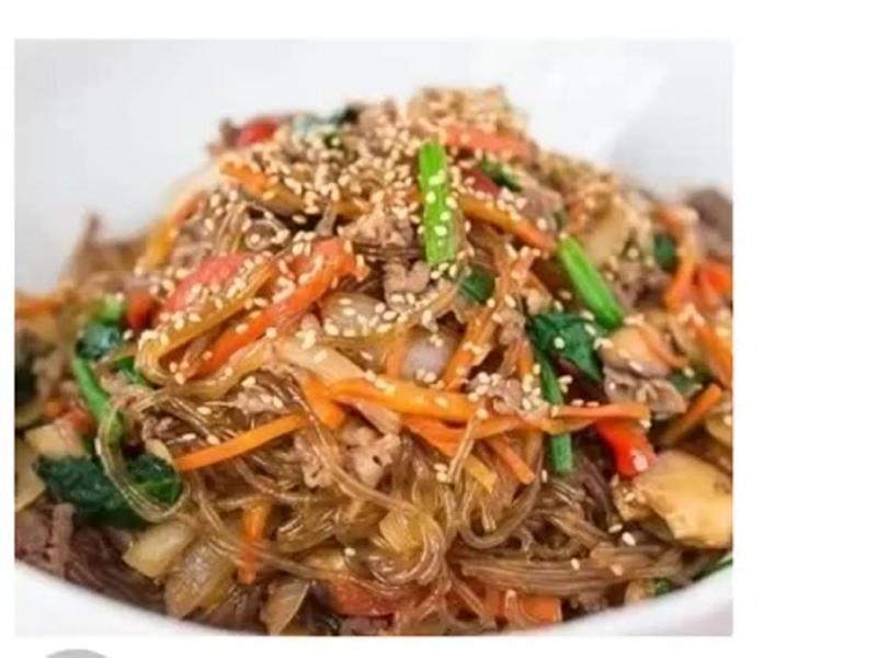 Японская ФУНЧОЗА с МОРЕПРОДУКТАМИ — это то, что надо для лёгкого и вкуснейшего ужина!