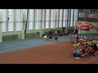 60м (предварительный забег) Алексей Голобородько
