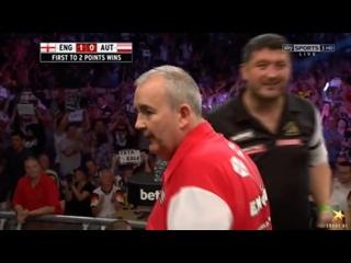 England vs Austria (PDC World Cup of Darts 2016 / Quarter Final)
