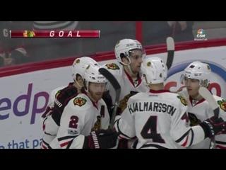 НХЛ 16-17. Сороковая результативная передача Артемия Панарина в сезоне 2016-2017.