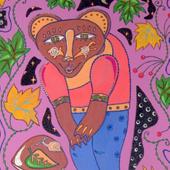 "Картина ""Медведь и улитка не делят гриб"", 2015 г."