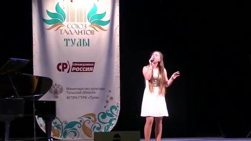 Анастасия Чепанова на международном конкурсе Союз талантов