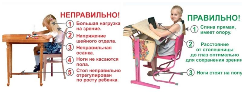 Правильная организация рабочего пространства школьника, изображение №1