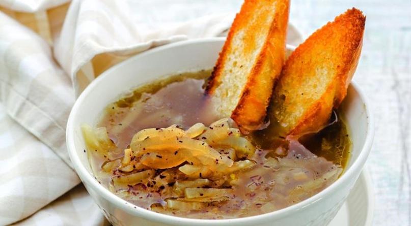 Постный луковый суп, изображение №1