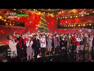 """[PERF] ALL ARTISTS - ENDING + MUST HAVE LOVE (181221 KBS """"MUSIC BANK: YEAR-END SPECIAL"""")"""