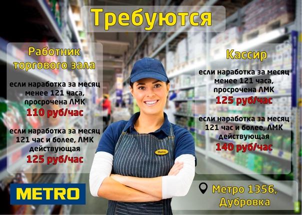 Метро Магазин Подработка
