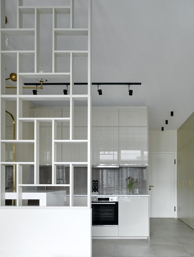 Интерьер квартиры 28 м в Москве.