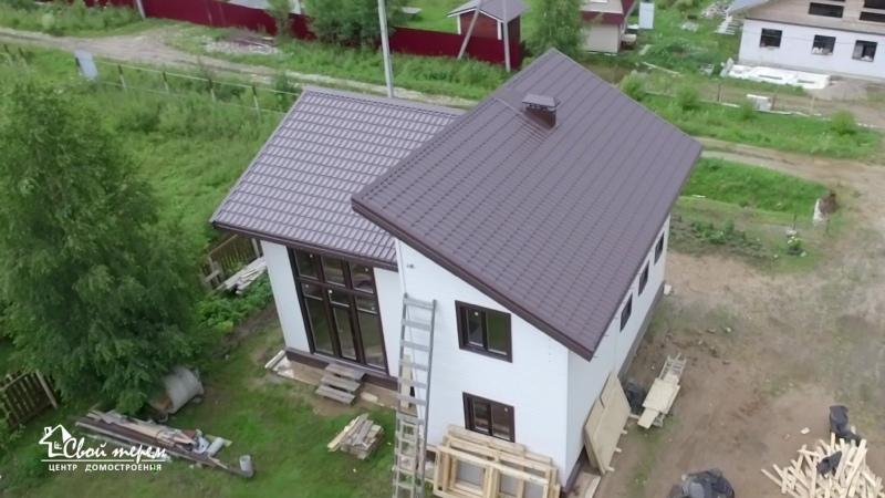 Каркасный дом по индивидуальному проекту. Свой Терем.
