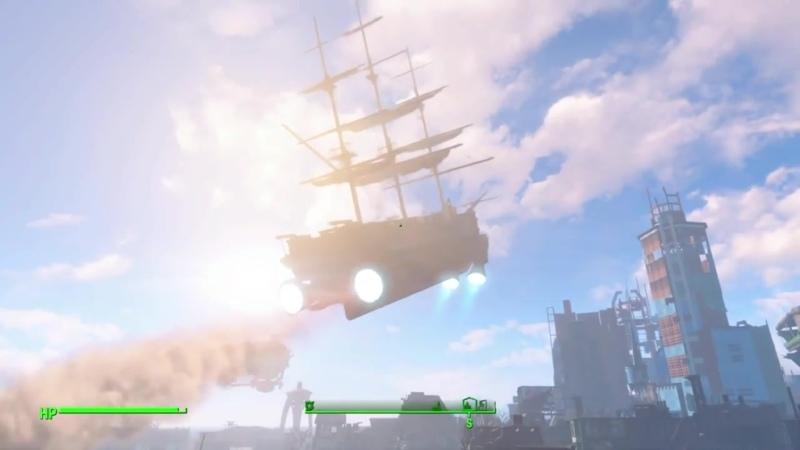 Айронсайд в край охуел и улетел на летающем корабле пиздец
