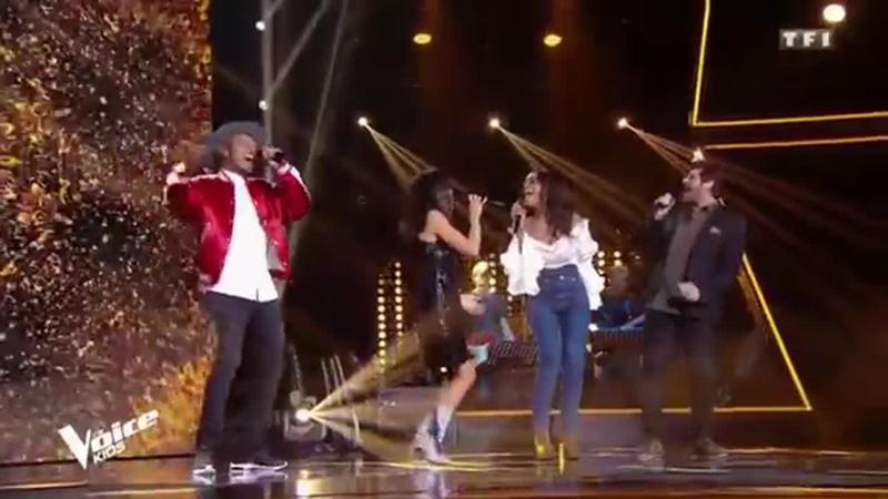 Шоу Голос Франция - Поют судьи. Песня То же самое (Мне все равно) — The Voice Kids France 2019- The judges sing La même