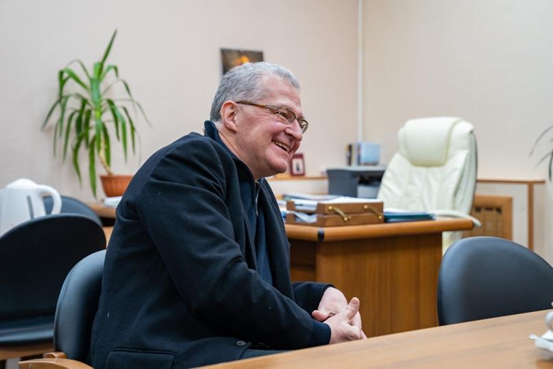 Президент Национальной галереи Коми Пьер Броше посетил Ухту, изображение №1