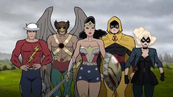 Первый кадр нового мультфильма DC «Общество справедливости: Вторая мировая война»