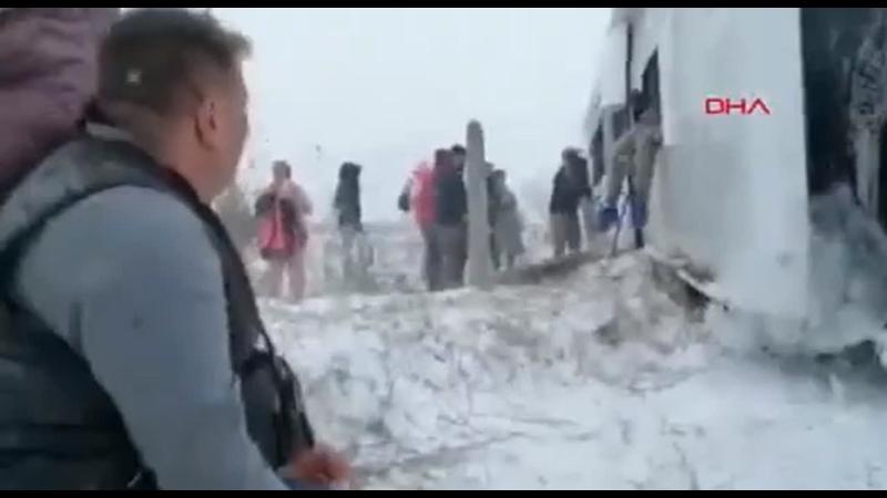 Российские туристы попали в аварию в Турции