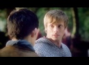 Arthur Pendragon and Merlin and Lancelot and Gwaine