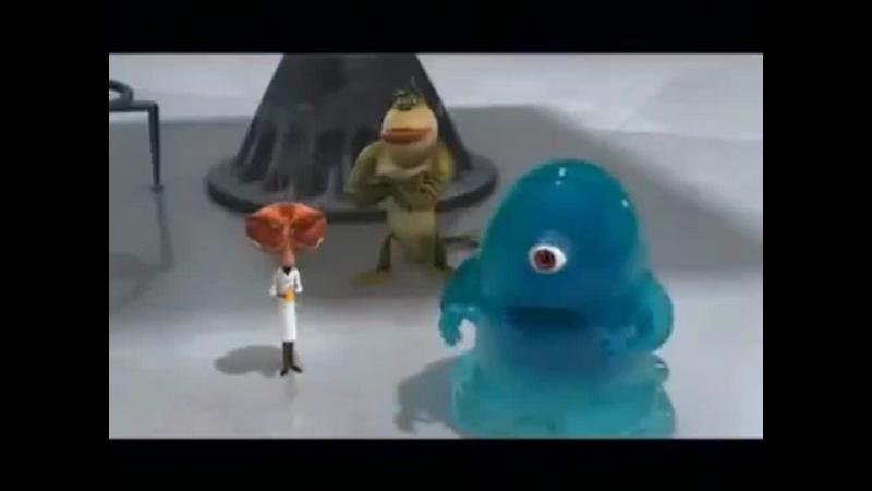 Реклама фильма Монстры против пришельцев 2009
