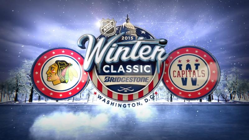 NHL Winter Classic 2015 Chicago Blackhawks Washington Capitals