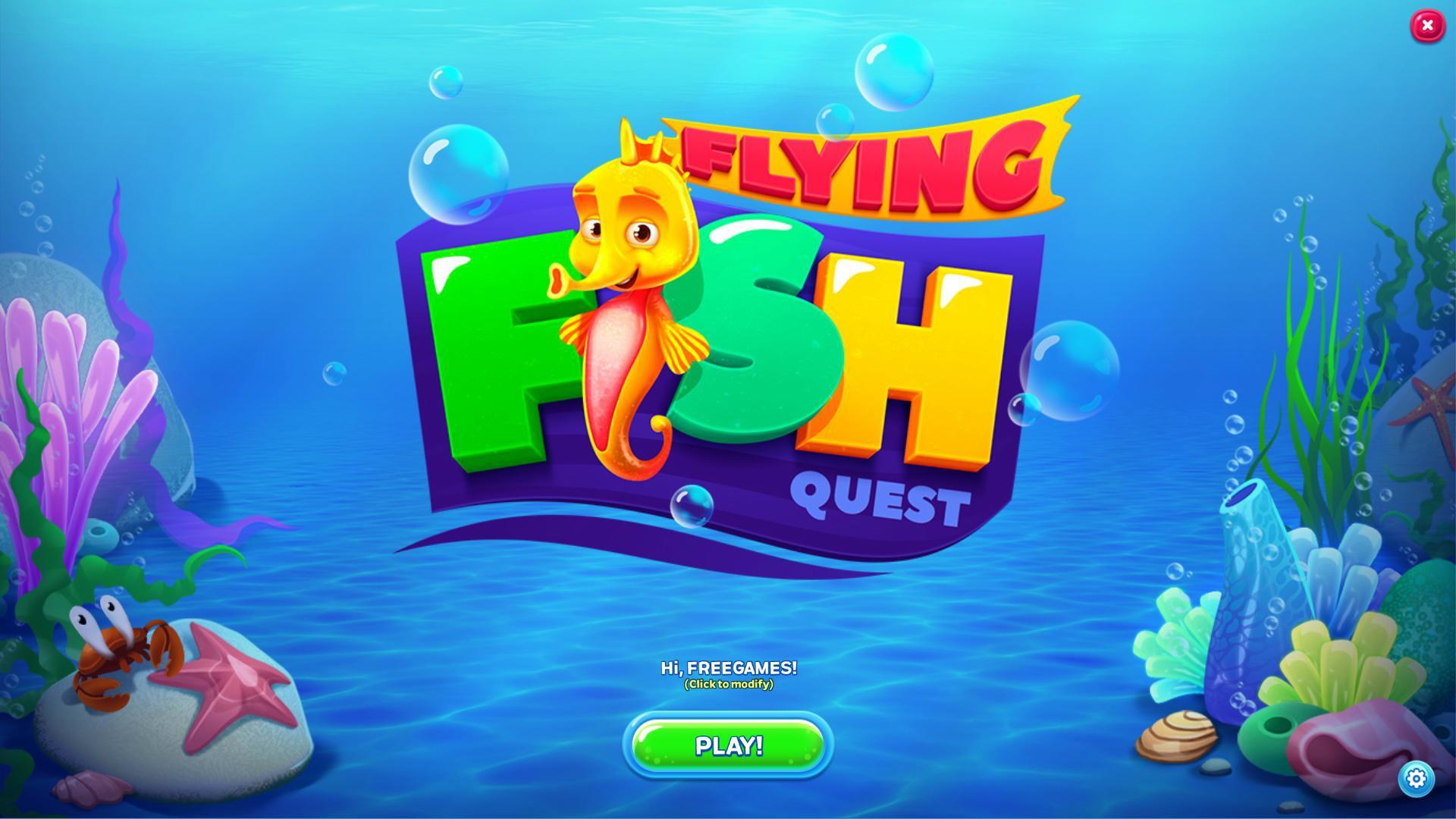 Flying Fish Quest (En)