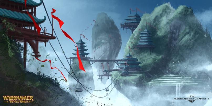 Великий Катай, новый лор Warhammer Fantasy и Total War III, изображение №14