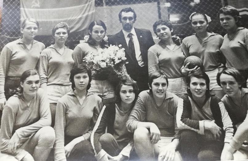 1971 год. Команда Ростова с тренером Эдуардом Фертиком