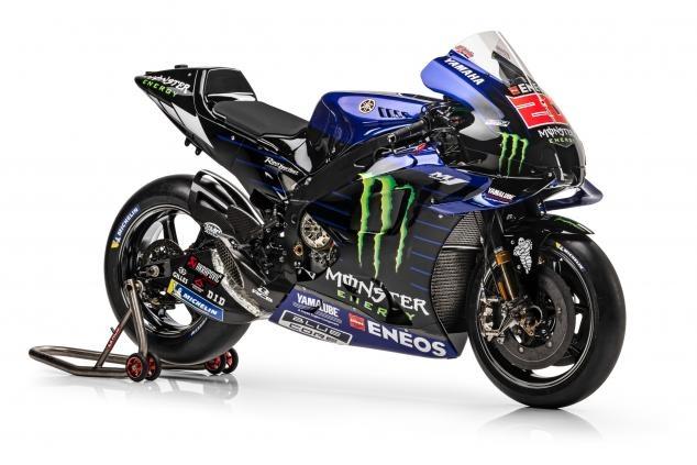 Новая эпоха Yamaha MotoGP. Расцветки 2021