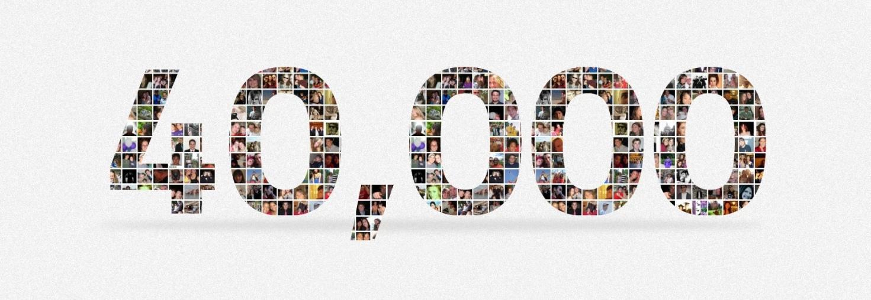 Друзья! Нас стало 40000! Спасибо вам за