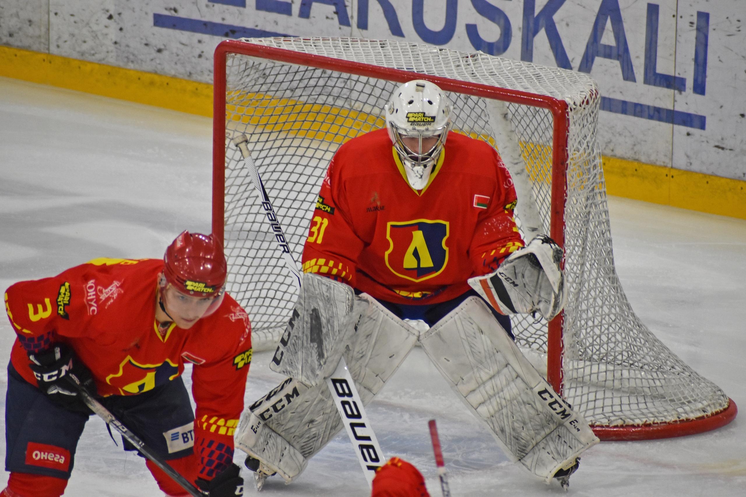 Хоккейный клуб «Лида» обыграл «Пинских Ястребов».