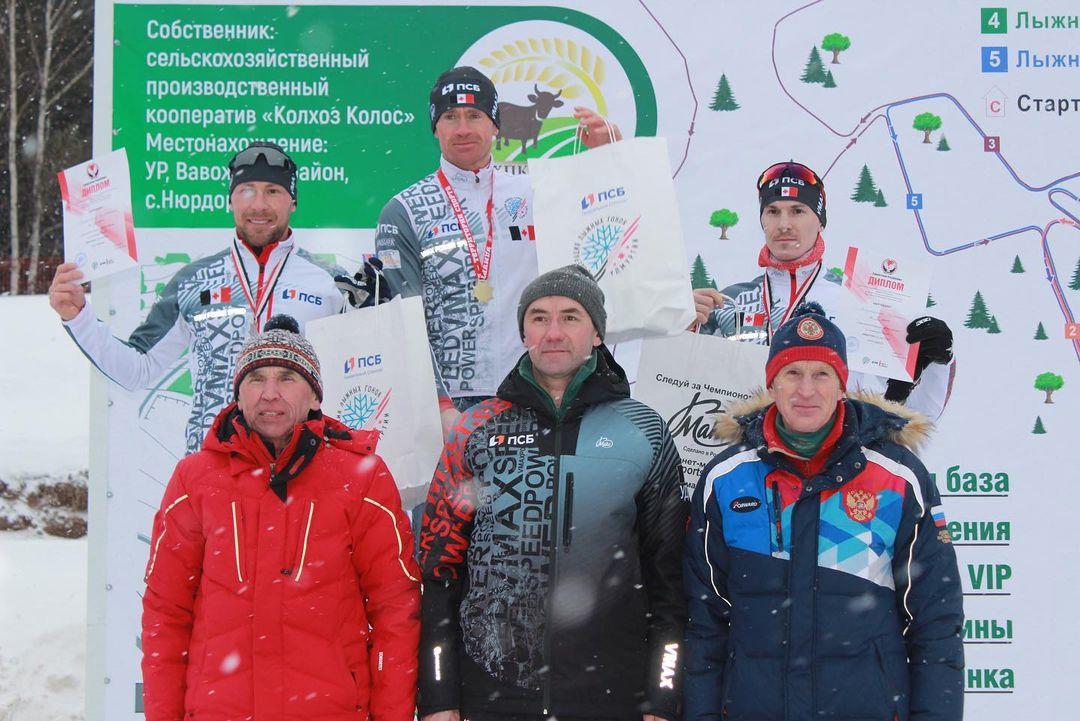 Можгинцы победили в первенстве Удмуртии по лыжным