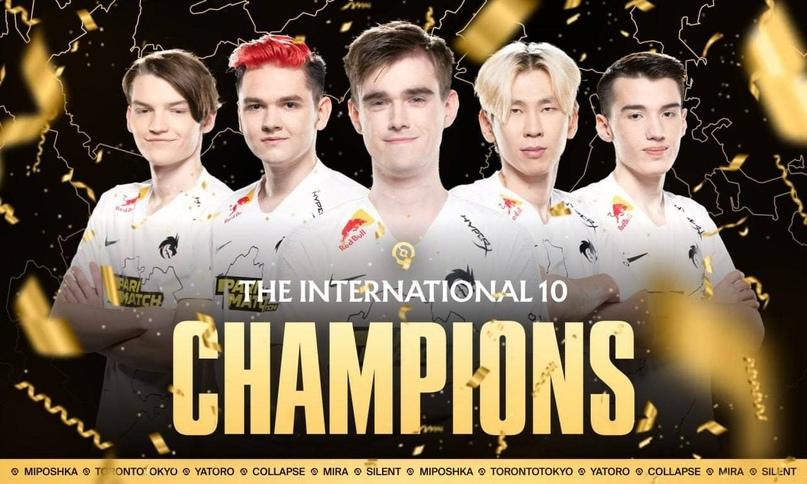 Российская команда Team Spirit по компьютерной игре Dota 2 заняла первое место в турнире The... [читать продолжение]