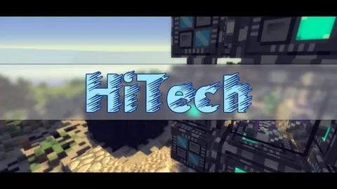 майнкрафт hi tech #4