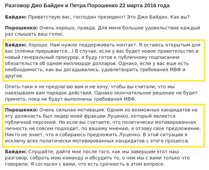 «Украинагейт-2»: три вопроса о вмешательстве Украины в выборы президента США в 2020 г., изображение №5
