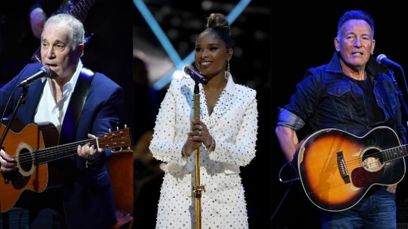 Брюс Спрингстин, Дженнифер Хадсон и Пол Саймон выступят на «концерте возвращения...