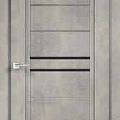 Дверное полотно NEXT 2 Муар светло-серый