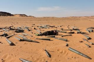 Сахара. Война между Ливией и Чад.
