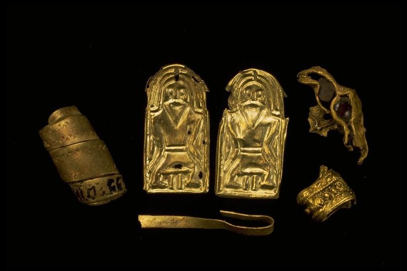 Gullgubber — загадочные золотые и серебряные гравюры, которые находят по всей Ск...