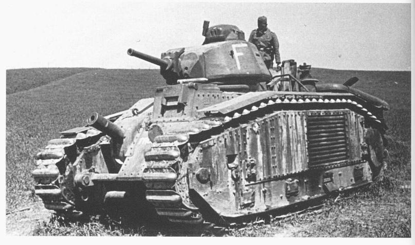 Французский танковый Ас., изображение №6