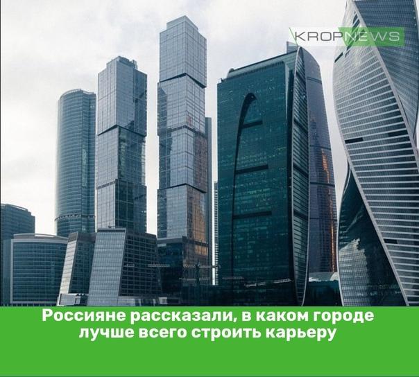 Россияне рассказали, в каком городе лучше всего ст...