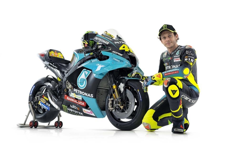 Новый мотоцикл Валентино Росси -  Petronas Sepang Racing Yamaha YZR-M1 2021