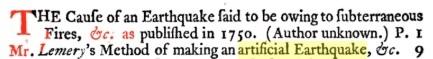 18-19 века: искусственные землетрясения, вулканы и цунами, изображение №4