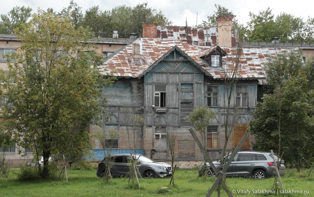 Старые дома в Гатчине, путешествие 2020