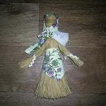 Обережная кукла «Хозяйка» из щетки