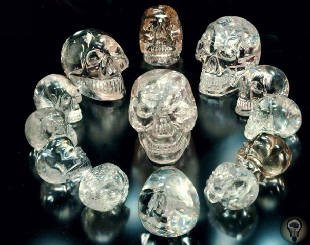 Кто создал хрустальные черепа «Объекты пристального внимания»  сплошная загадка