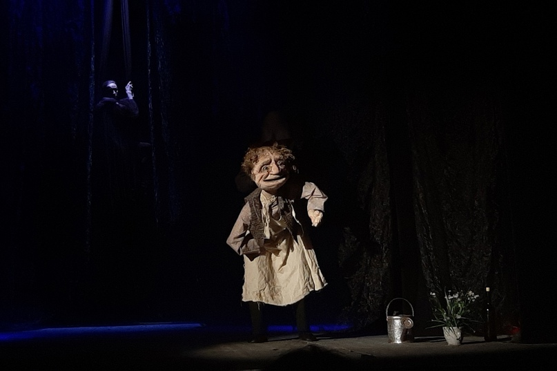 Спектакль «Медведь» А.П.Чехова / Калининградского областного театра кукол