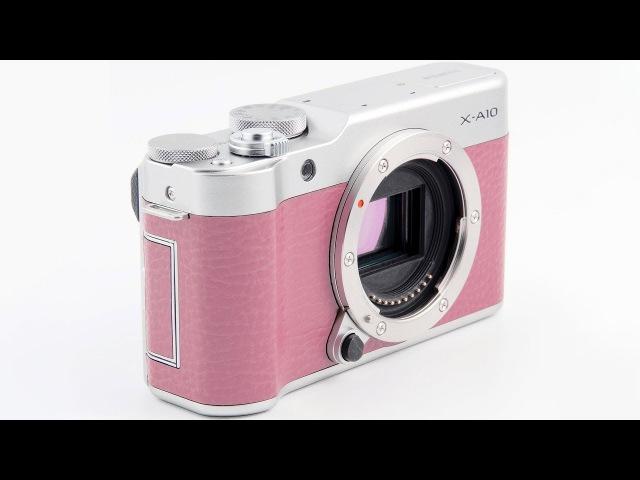 Беззеркальная фотокамера Fujifilm X-A10 формата APS-C со сменными объективами
