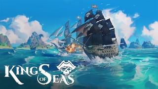 King of Seas ▶ Первый Взгляд и Обзор Геймплея ▶ Новая Игра про Пиратов ▶ Морской Бой ▶ Начало #1